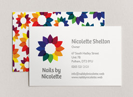 Add vibrant colours to business cards, Vistaprint