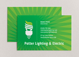 Use a great logo for great business cards, Vistaprint